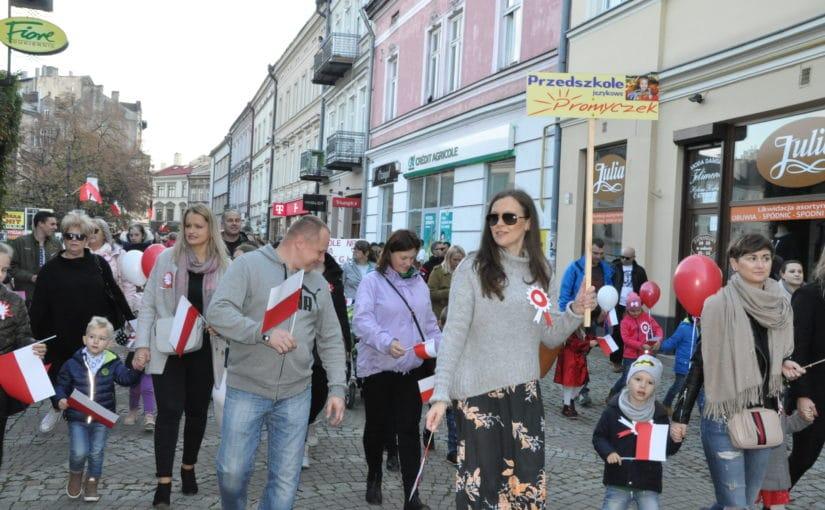 Marsz zokazji 100-lecia odzyskania Niepodległości